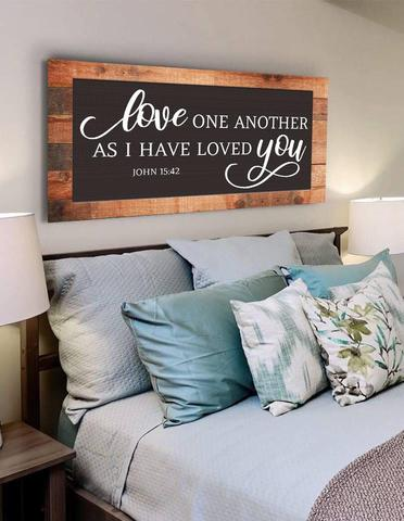 #3 love one another christian sign Christian Gifts for boyfriend