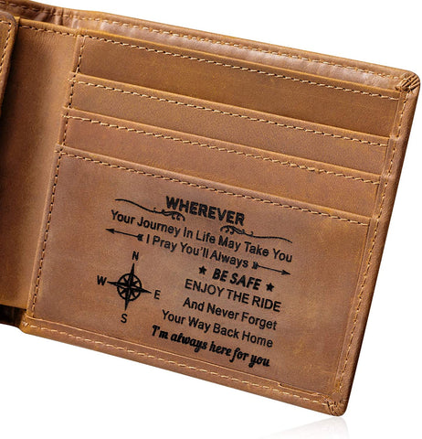 #4 Christian Quote wallet back-to-school gifts