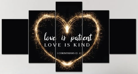 #4 love is kind Christian valentines gifts for her