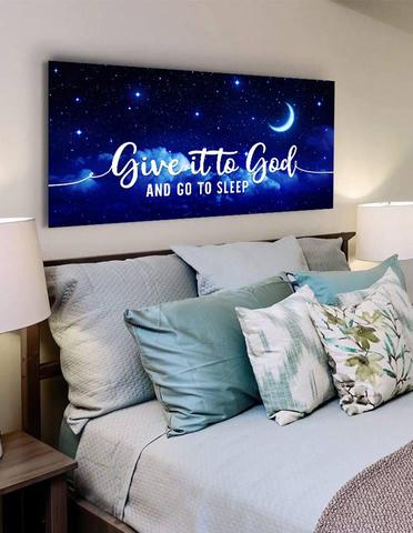 #5 give it to God and go to sleep Christian gifts for young girls