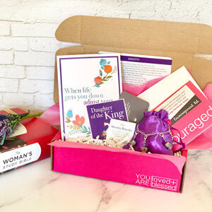 #5 love and blessed subscription Box christian gifts for teenage girls