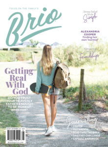 #6 Brio Mag christian gifts for teenage girls