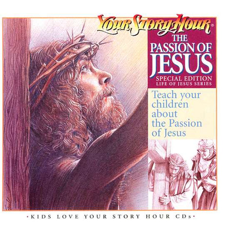 #6 passion of jesus audiobook Christian Easter Gifts for Kids