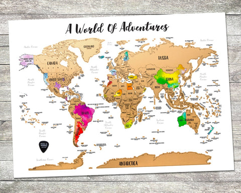 #6 travel map Gifts for Christian Grandparents