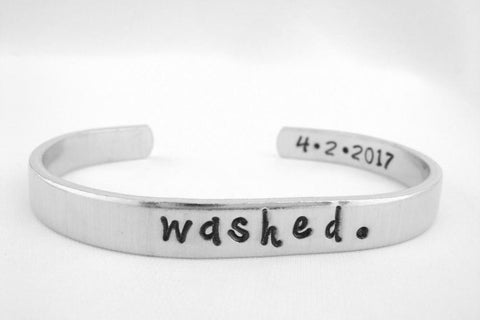 #6 washed bracelet Christian gifts for youth