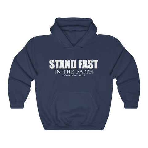 7 1 Corinthians 16 13 standfast hoodie Christian Gift for Pastors