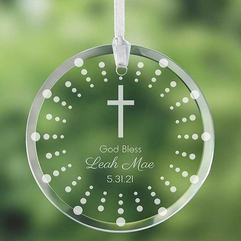 #7 Orniment  Christian personalized baby gifts