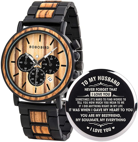 #7 personalized watch Christian Anniversary Gift for Husband