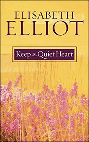 #8 keep a quiet heart book Christian mother's day gifts for church