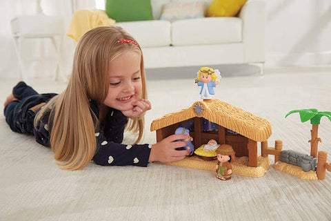 #8 little people christmas story Christian gifts for young girls
