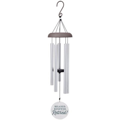 chimes with bible verse on it as retirement gift