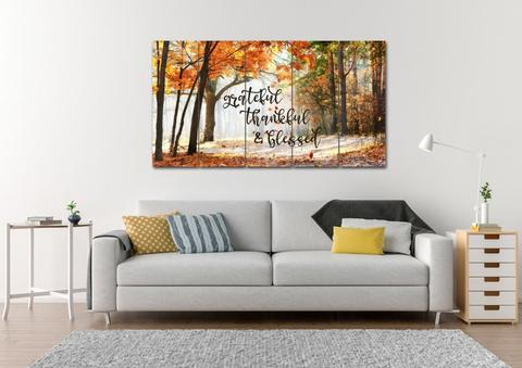 #8 thankful grateful blessed Gifts for Christian Grandparents