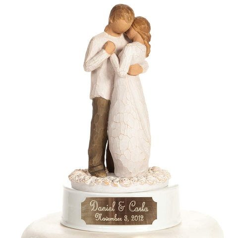 #9 engraved personalized figure Christian bachelorette gift