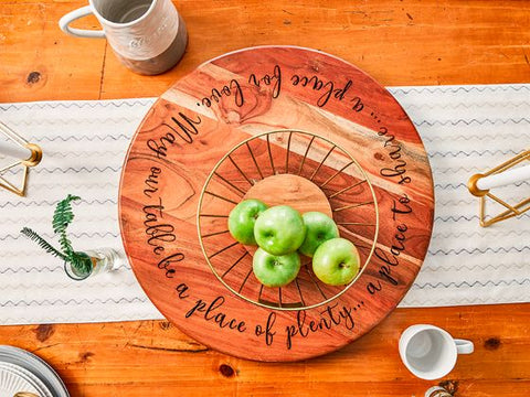 #9 lazy susan Christian christmas gifts for wife