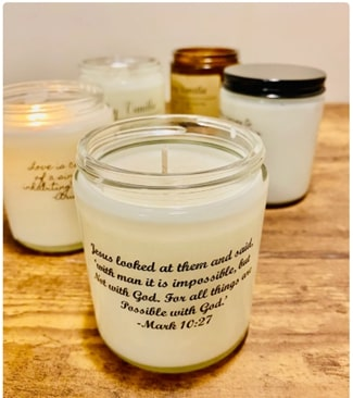 #9 mark 10 27 candle Christian valentines gifts for her