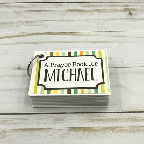 #9 personalized baby Prayer cards christian gifts for new mom dad expecting parents