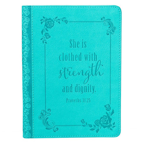 #9 proverbs 31 25 journal christian gifts for mom
