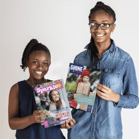#9 shine brightly magazine Christian gifts for young girls
