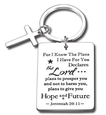 Keychain gifts for christian couples