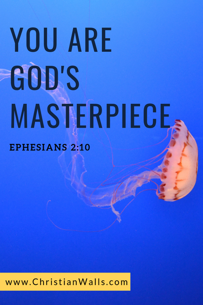 Ephesians 2 10 You are God's masterpiece picture print poster bible verse