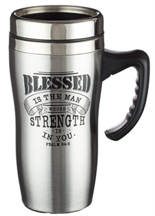 psalm 84 5 blessed is the man mug