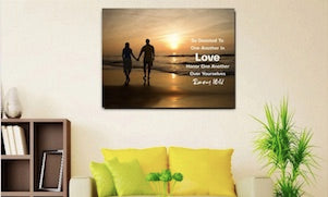romans 12 10 love and devote one another gift for christian couples