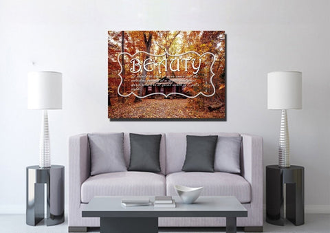 Image of 1 Peter 3:4 Canvas Wall Art Print