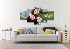 Image of #10 So Very Blessed - Happy Family Art