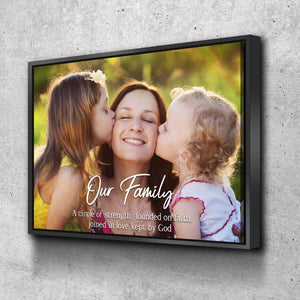 #11 Family Joined in Love Canvas Art