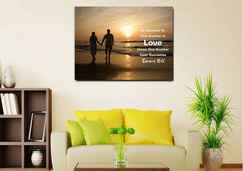 #12 Romans 10:12 Love & Devote One Another Family Art