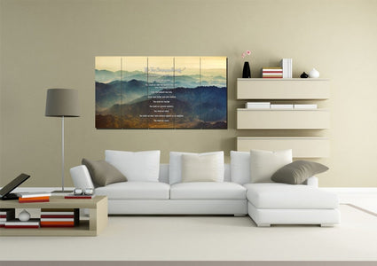 #15 Mount Sinai Mornings & 10 Commandments Wall Art