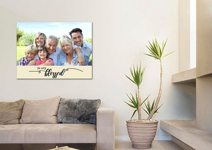 #15 So Very Blessed - Grandparents Family Canvas