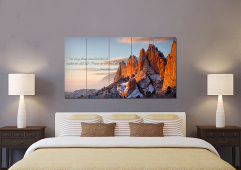 Image of Let Everything Praise the Lord - Psalm 150:6 Wall Art