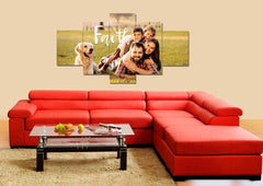#5 Faith - Custom Family Wall Art Canvas