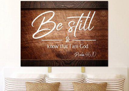 #8 On Crate & Be Still Wall Art Canvas