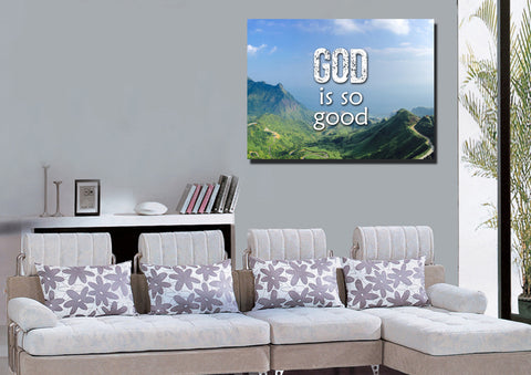 God is Good Wall Art Canvas Print