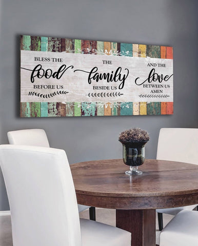 Bless our Family - Christian Signs for Home