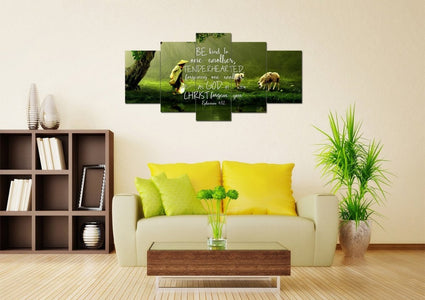 Ephesians 4:32 Wall Art Canvas Print
