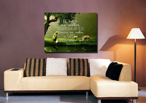Image of Ephesians 4:32 Wall Art Canvas Print