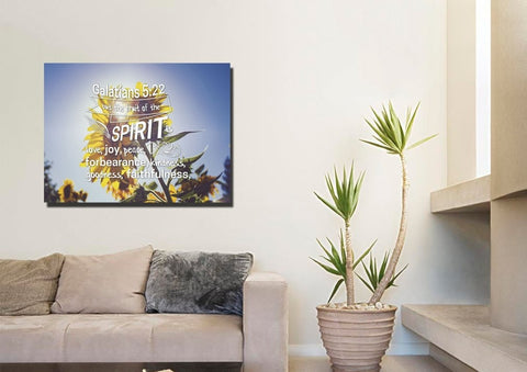 Galatians 5:22 #2 Fruit of the Spirit Wall Art Canvas Print