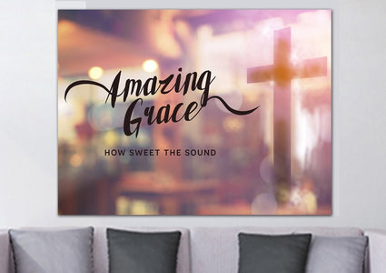 Glassy #8 Amazing Grace Wall Art & Decor