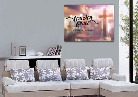 Image of Glassy #8 Amazing Grace Wall Art & Decor