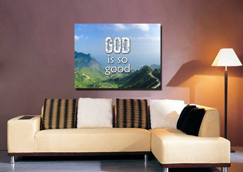 Image of God is Good Wall Art Canvas Print