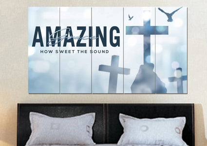 Holding #5 Amazing Grace Wall Art & Decor