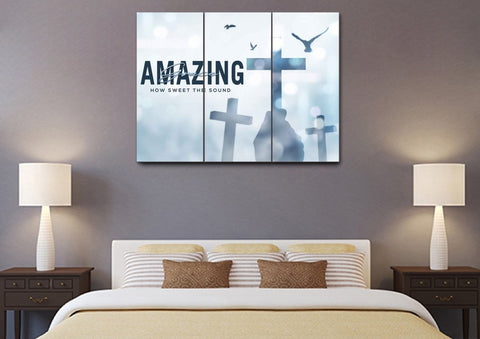 Image of Holding #5 Amazing Grace Wall Art & Decor
