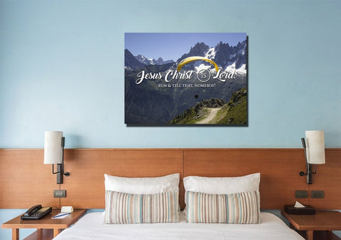 Jesus Christ is Lord Wall Art Canvas Print