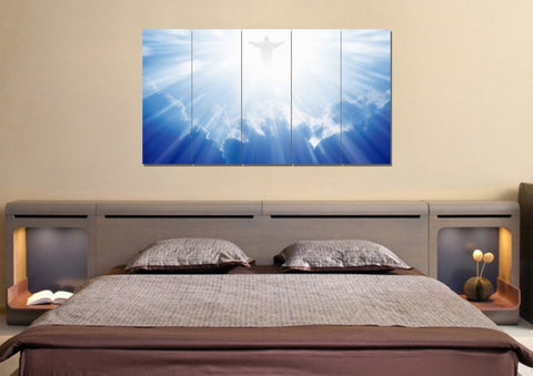 Image of Jesus Coming to Save Us #42 Wall Art