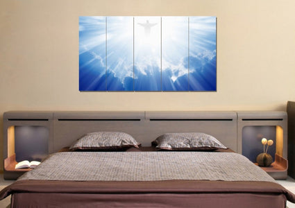 Jesus Coming to Save Us #42 Wall Art