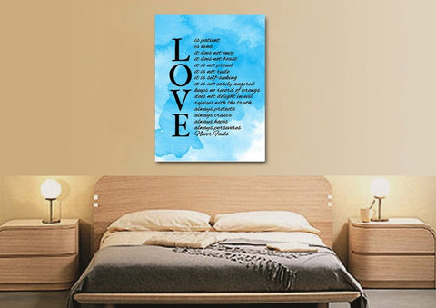Image of Love is Patient, Love is Kind #11 Canvas Print