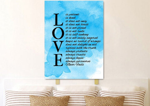 Love is Patient, Love is Kind #11 Canvas Print